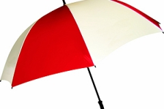 Dual Color Promotional Umbrella - Red and White - GD-101929